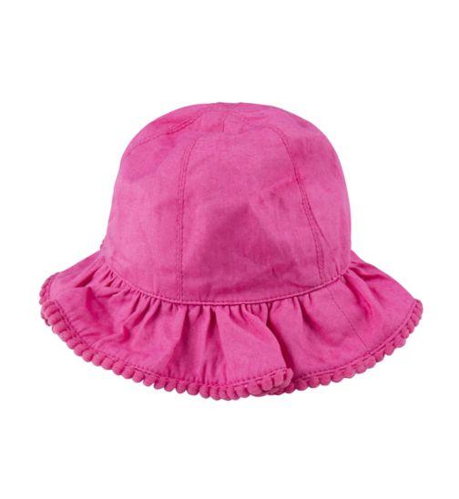 Mini Club Baby Girls Sun Hat Pink