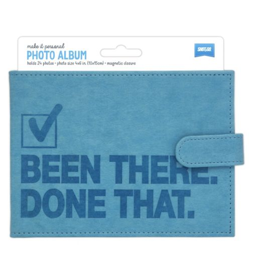 Shot2Go Brag Book Blue