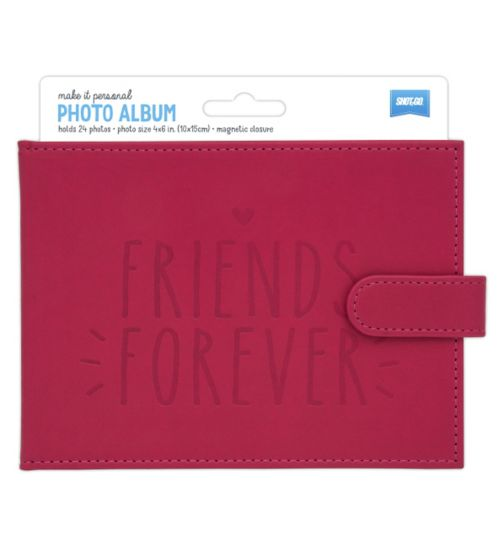 Shot2go Friends Forever Photo Album Pink