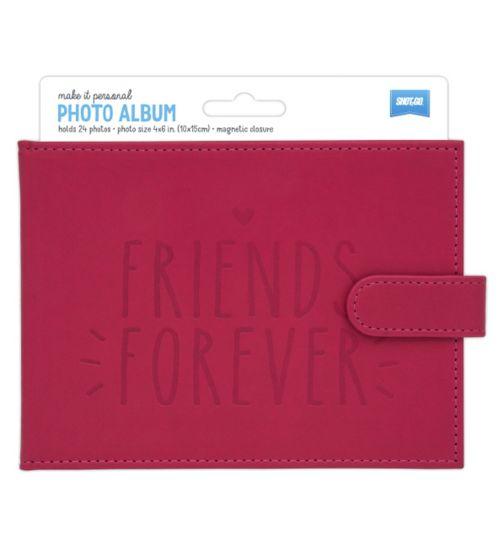 Shot2go Friends Forever Brag Book Pink