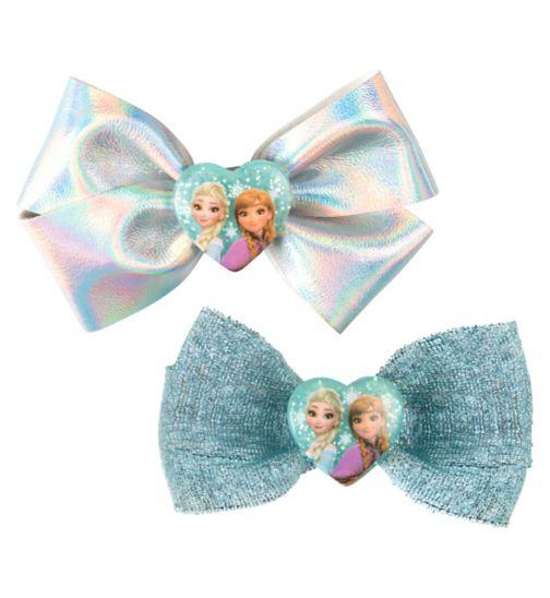 Disney Frozen oversized bow barrettes 2s