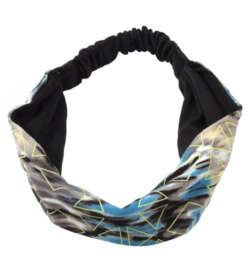 Scunci sports glow headwrap black