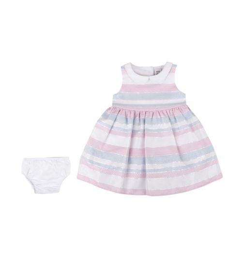Mini Club Baby Girls Dress Stripe