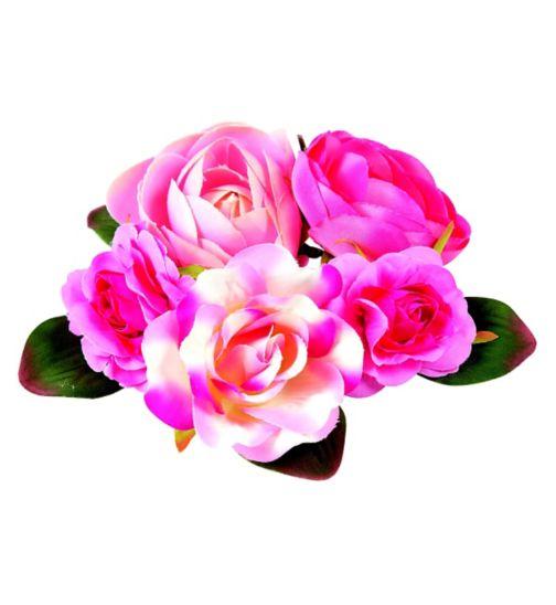 Scunci Style Flower Elastic Corsage 1pk