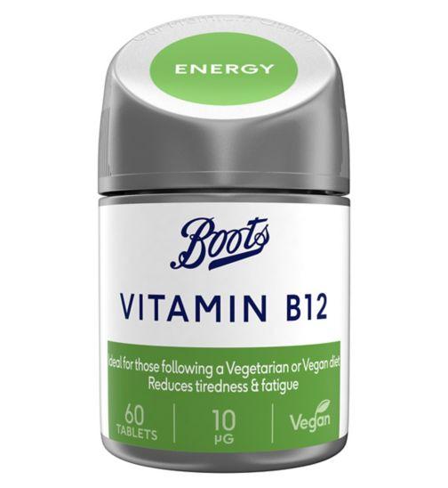 Boots Vitamin B12 10 µg - 60 tablets