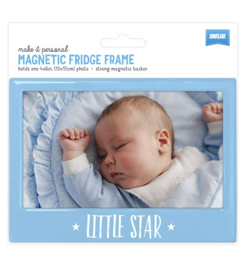 Shot2go Fridge Magnet Baby Blue - 4x6