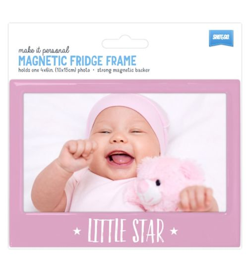 Shot2go Fridge Magnet Baby Pink - 4x6