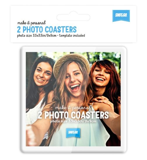 Shot2go photo coasters 2s