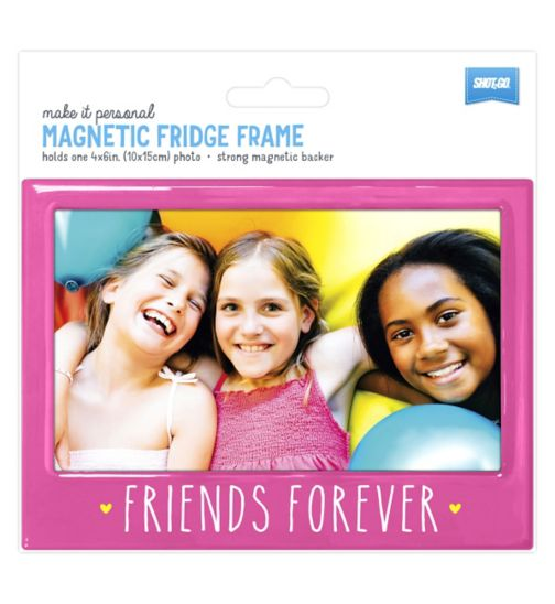 Shot2go Fridge Magnet Friends Forever Pink - 4x6