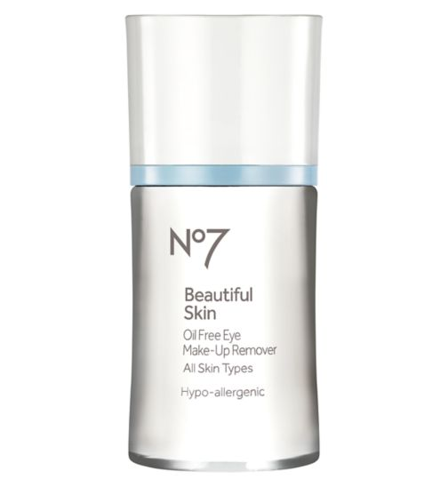 No7 Beautiful Skin Oil Free Eye Make-Up Remover
