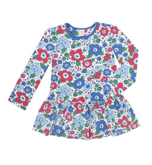 Mini Club Girls Tunic Blue