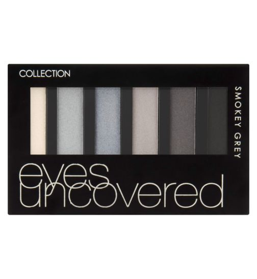 Collection Eyes Uncovered palette Smokey Grey