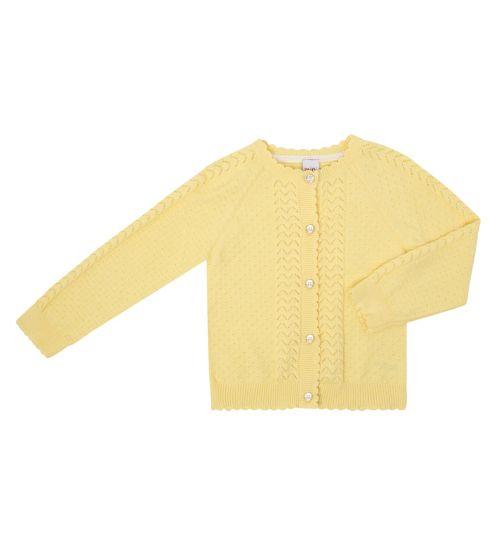 Mini Club Girls Cardigan Yellow
