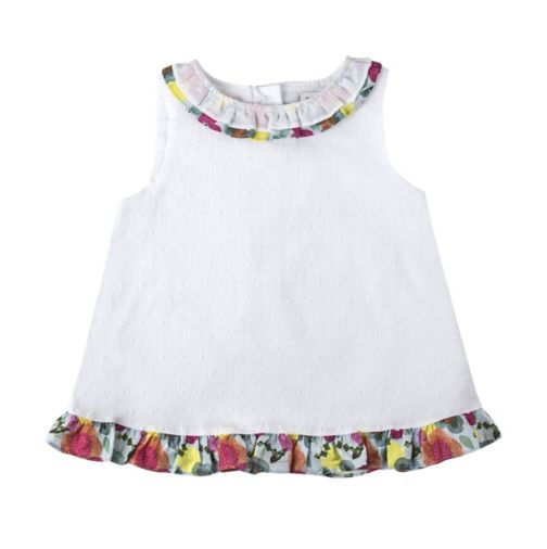 Mini Club Girls Blouse White