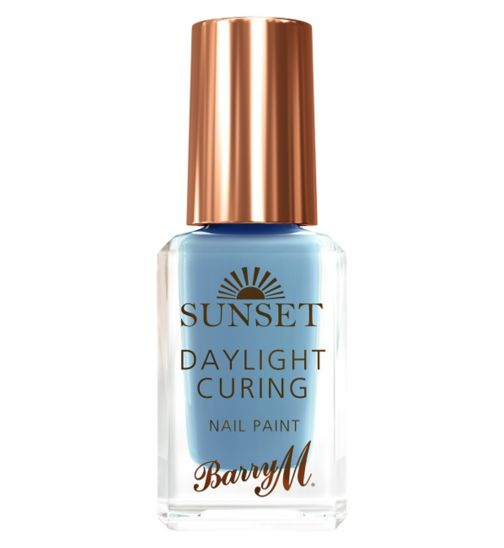 Barry M Sunset nail paint 13 Bug a Blue 10ml