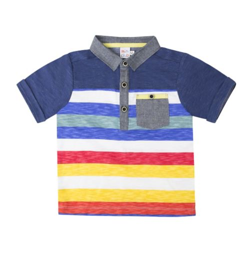 Mini Club Boys short sleeve polo shirt