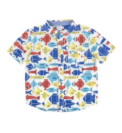 Mini Club Boys Shirt Fish
