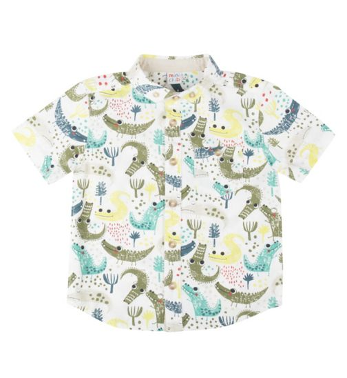 Mini Club Boys Shirt Crocodile