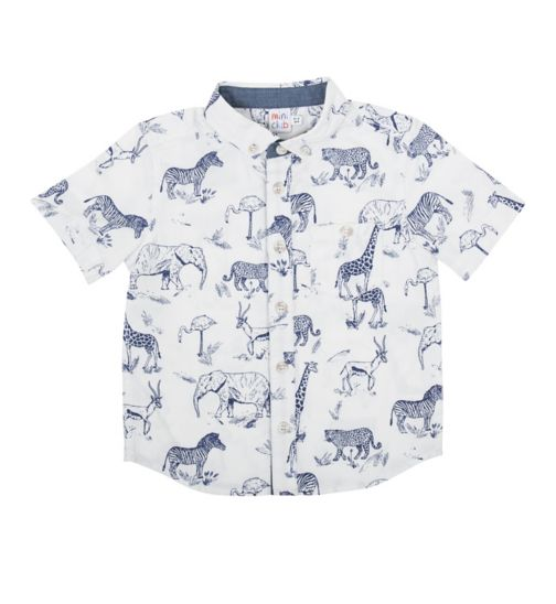 Mini Club Boys Shirt Safari