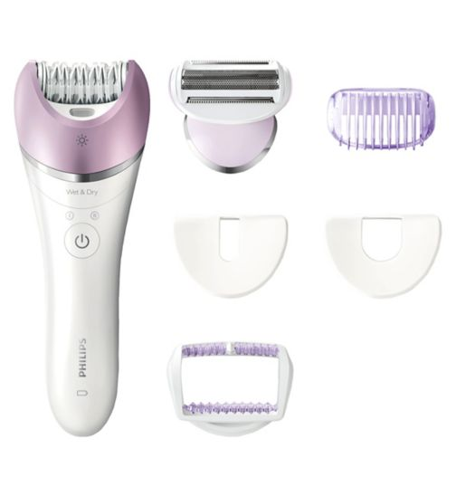 Philips Satinelle BRE630/00 Advanced Wet and Dry Epilator