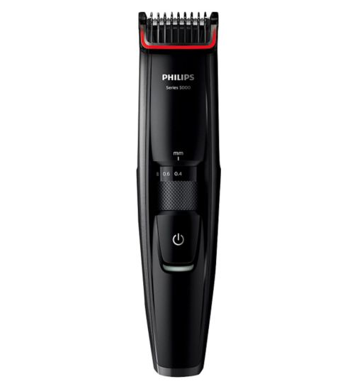 Philips Series 5000 Beard and Stubble Trimmer BT5200/13 with 17 length settings