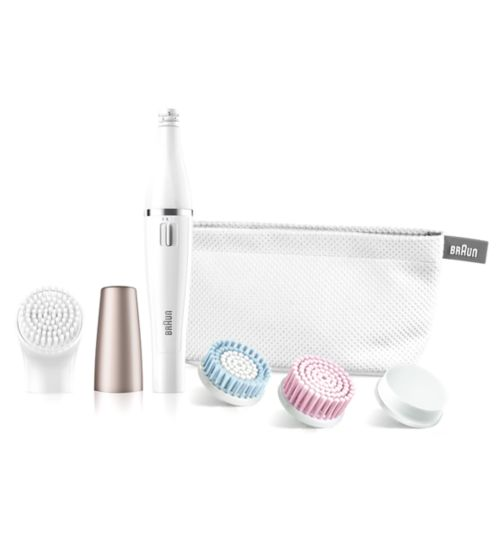 Braun Face 851 Epilator & Cleansing brush