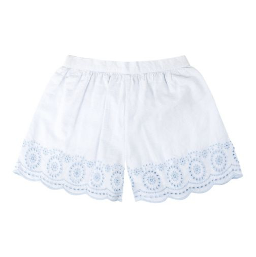 Mini Club Girls Shorts Blue Stripe