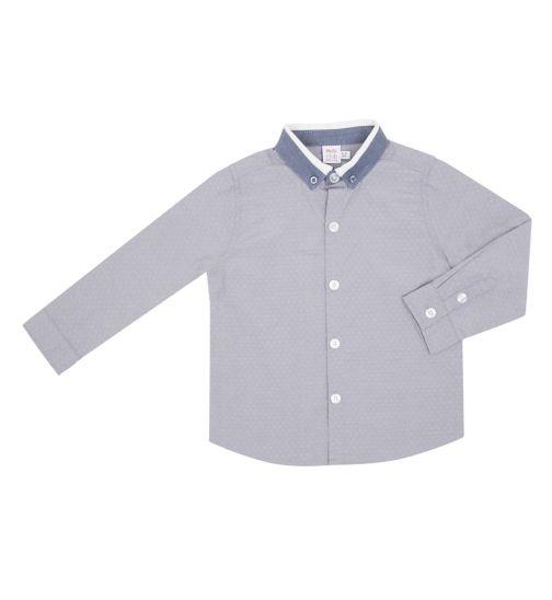 Mini Club Boys Shirt Grey