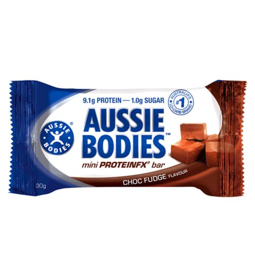 Aussie Bodies Mini ProteinFX Bar - Chocolate Fudge
