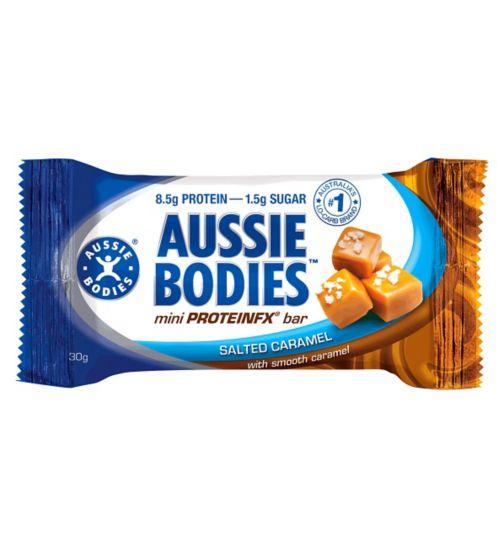 Aussie Bodies Mini ProteinFX Bar - Salted Caramel