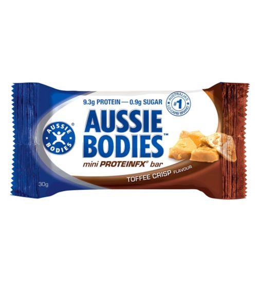 Aussie Bodies Mini ProteinFX Bar - Toffee Crisp