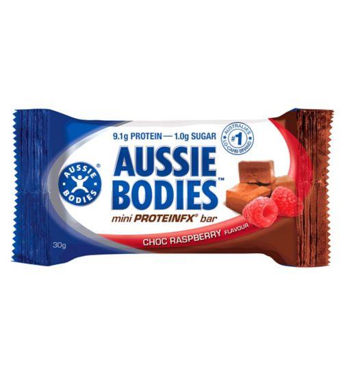 Aussie Bodies Mini ProteinFX Bar - Chocolate Raspberry