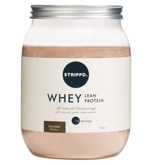 STRIPPD Whey Lean Protein Chocolate 490g
