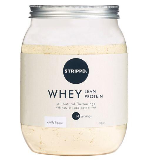 STRIPPD Whey Lean Protein Vanilla 490g