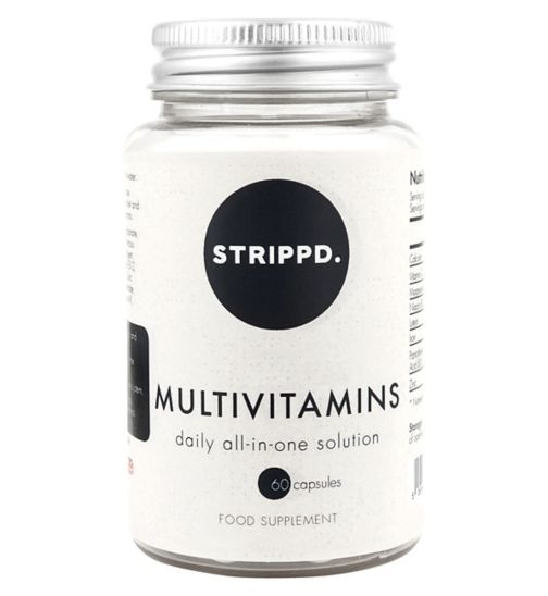 STRIPPD Diet Multivitamin Capsules - 60 Capsules