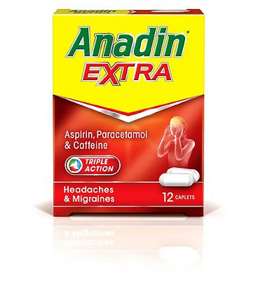 Anadin Extra Triple Action - 12 Caplets