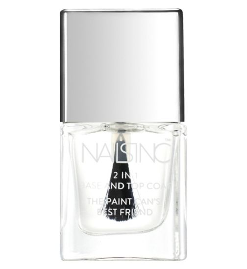 Nails Inc 2 in 1 duo base & top coat