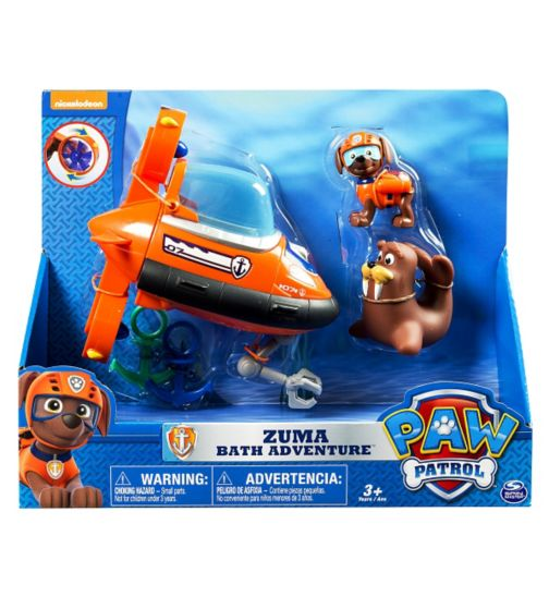 Paw Patrol Zuma's Bath Adventure