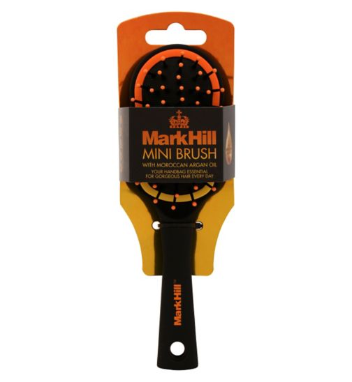 Mark Hill Mini Paddle Brush With Moroccan Argan Oil