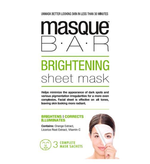 Masque Bar Brightening Sheet Mask - 3s