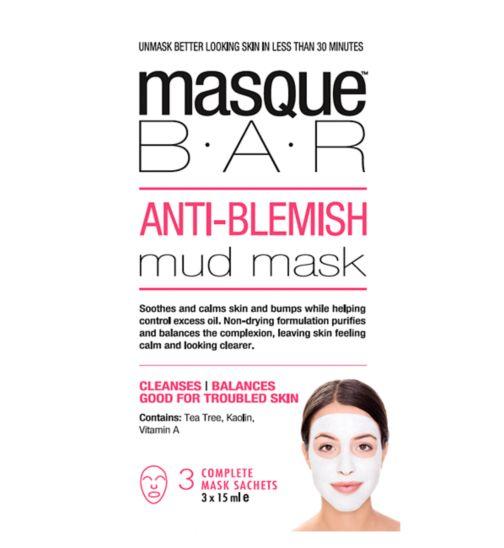 Masque Bar Anti-Blemish Mud Mask - 3s