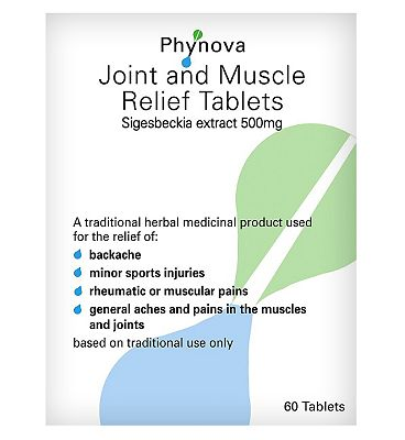 Phynova Joint and Muscle Relief - 60 Tablets