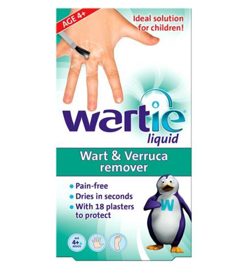 Wartie Liquid Wart & Verruca remover - 5 ml