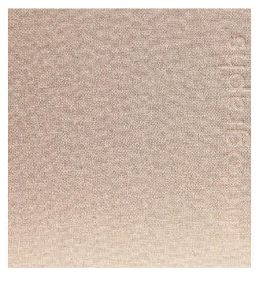 Innova linen 18x13cm 7x5 grey memo slip in 140 photo album