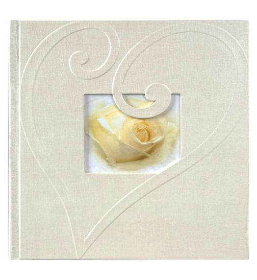 Wedding Heart Paper Swirl Memo 6x4 Slip In Album 200 photos