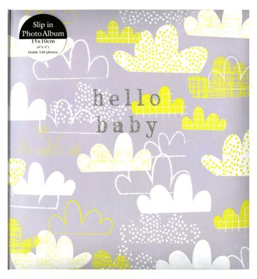 Anker hello baby clouds album 15x10cm 6x4 140 photos