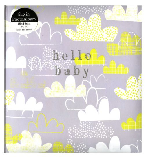 Anker hello baby clouds album 18x13cm 7x5 140 photos
