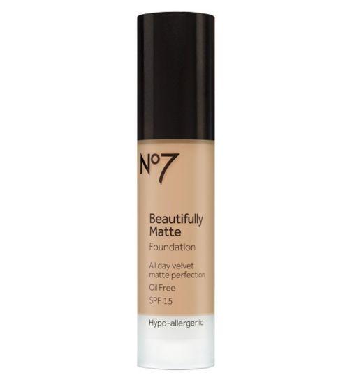 No7 Beautifully Matte Foundation 30ml