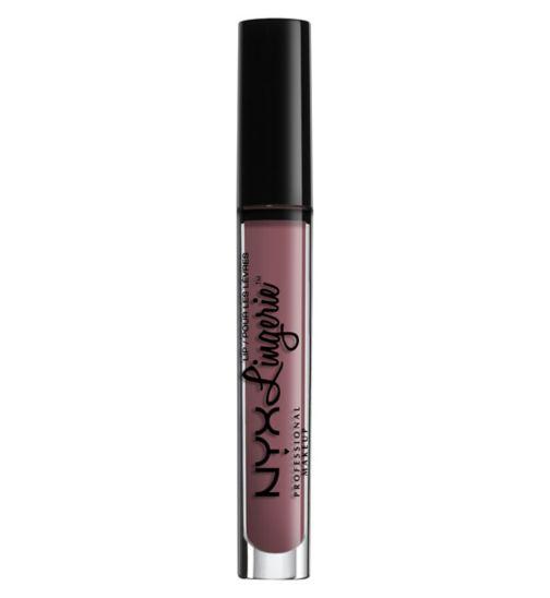 nyx lingerie lipsticks vipxo