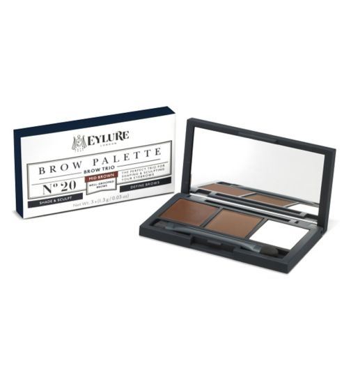 Eylure Brow Palette Mid Brown